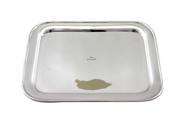"""The Connaught Oblong Hotel Silver Tray 12"""" x 9"""" Post 1960"""