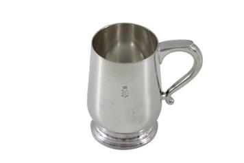 Royal Garden Hotel Silver 9oz Mug Post 1960