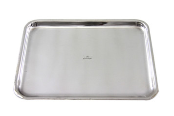 """The Connaught Hotel Silver Rectangular Tray 14.5"""" x 11"""" Post 1960"""