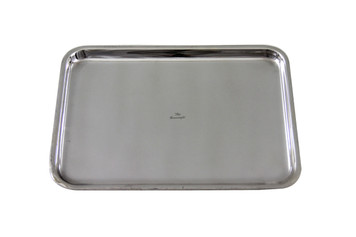 """The Connaught Hotel Silver Rectangular Tray 12.25"""" x 9"""" Post 1960"""