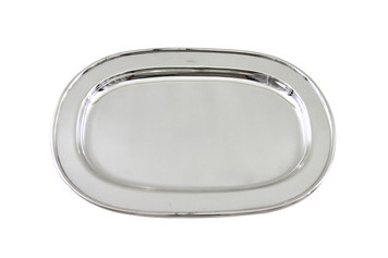 """The Connaught Hotel Silver 17"""" Rectangular Platter Post 1960"""