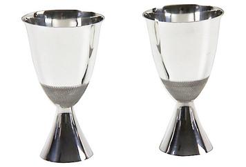 English Modern Design Goblets, C.1920