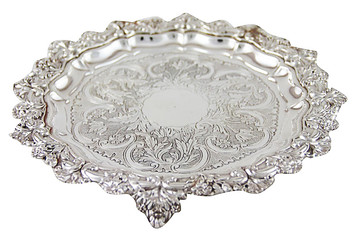 French Odiot Salver, C. 1875