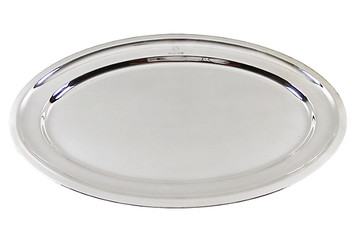 "21"" English Cogagne Platter, C. 1900"