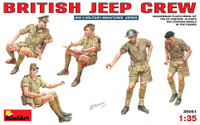Miniart Models British Jeep Crew