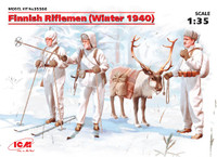 ICM Models Finnish Riflemen Winter 1940