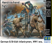 Masterbox Models WWI Hand-to-Hand Fight German & British Infantrymen