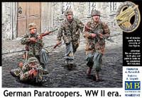 Masterbox Models WWII German Paratroopers