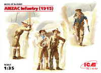 ICM Models WWI ANZAC (Australian & New Zealand) Infantry 1915
