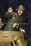 Alpine Miniatures - Tiger Commander Tunisia