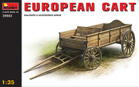 Miniart Models European Cart Wooden Type