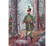 The Art of Don Troiani - 1st United States Rifle Regiment, 1812