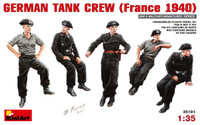 Miniart Models German Tank Crew France 1940