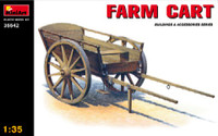 Miniart Models Farm Cart Wooden Type