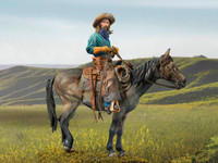 Andrea Miniatures: Classics in 90mm - True Cowboy