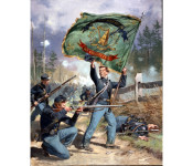 The Art of Don Troani - 37th New York Volunteers, Irish Rifles