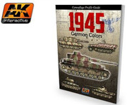AK Interactive - 1945 German Colors Camouflage Profile Guide Book