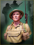 Young Miniatures - British Soldier, Battle of EL ALAMEIN 1942