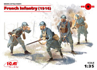 ICM Models French Infantry 1916