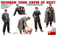 Miniart Models German Tank Crew at Rest