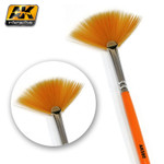 AK Interactive Fan Shape Weathering Brush
