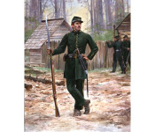 The Art of Don Troiani - Clinch Rifles, Georgia Militia, 1861
