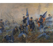 The Art of Don Troiani - Three Medals of Honor, Battle of New Market Heights, September 29, 1864