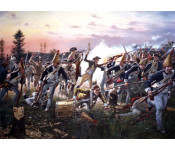 The Art of Don Troiani - Breymann's Redoubt, Battle of Saratoga, 1777