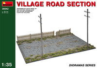 Miniart Village Road Section