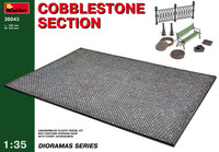 Miniart Models Cobblestone Section