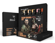 Abteilung 502 - Flesh Oil Paint Set