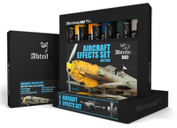 Abteilung 502 - Aircraft Effects Weathering Oil Paint Set