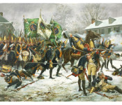 The Art of Don Troiani - Battle of Trenton, December 26, 1776
