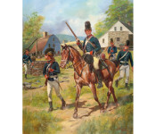 The Art of Don Troiani - 16th (Queen's) Light Dragoons, 1777-1778