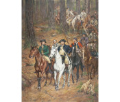 The Art of Don Troiani - Colonel Cleveland's War Prize, King's Mountain, October 7, 1780