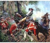 The Art of Don Troiani - Battle of Eutaw Springs, 1781
