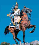 Andrea Miniatures: Classics In 90MM - French Cuirassier on Horseback, 1812
