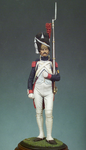 Andrea Miniatures: Classics In 90MM - French Imperial Grenadier, 1812