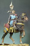 Andrea Miniatures: Classics In 90MM - Mounted Crusader
