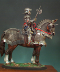 Andrea Miniatures: Classics In 90MM - Mounted German Gothic Knight