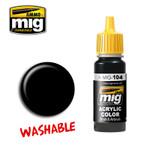 Ammo of MIG Washable Black Acrylic Paint