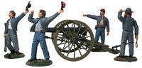 "Wm. Britain ""We Hit 'em Boys!"" Confederate 10-Pound Parrott Gun"