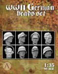 Scale 75: Warfront - WWII German Heads Set