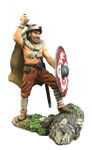 Wm. Britain Augnarr, Viking Warrior Attacking Wearing Wolfskin No.1
