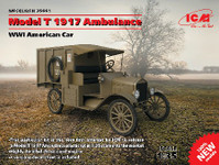 ICM Models WWI American Model T Ambulance 1917