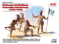 ICM Models Eritrean Battalions of the Italian Colonial Army 1939-40