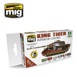 Ammo of MIG King Tiger Interior Colors (Special Takom Ed.) Vol. 1