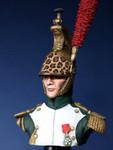 Nemrod Buste de Dragon a cheval de la Garde