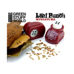 Green Stuff World Miniature Leaf Punch RED - 4 Types of Leaves