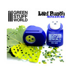 Green Stuff World Miniature Leaf Punch DARK PURPLE - Lime Leaves